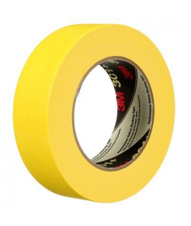 3M 301+ 24mm Yellow Performance Masking Tape