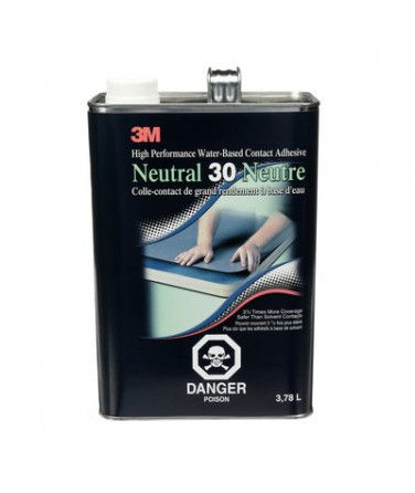 3M™ Fastbond™ Contact Adhesive, 30NF, neutral, 1 gal
