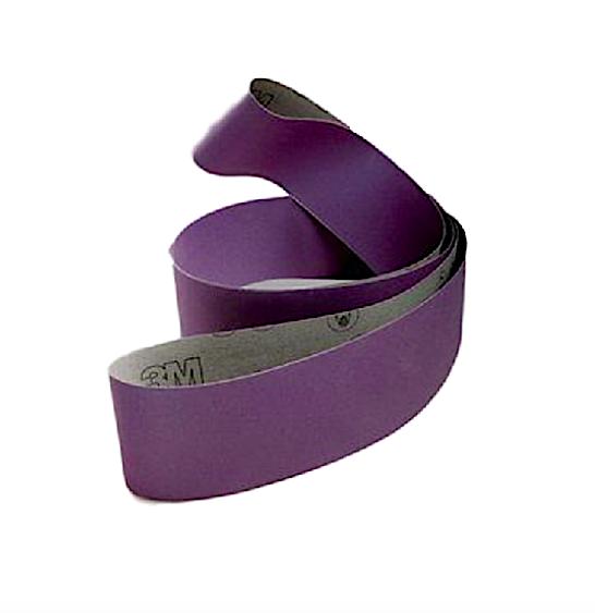 3M 970DZ 6 x 108 Cloth Belt - Various Grit - Edge Sander