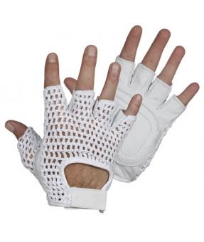 Fingerless Goat Skin Gloves