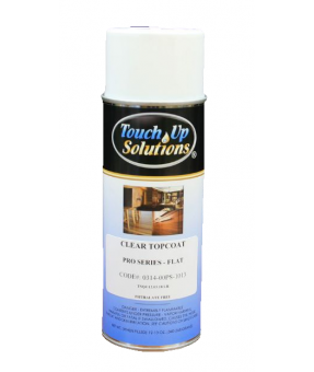 Touch-Up Solutions Clear Topcoat- Flat