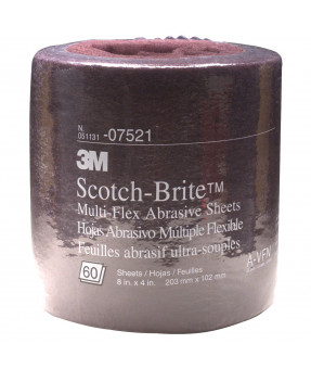 3M™ Scotch-Brite™ Multi-Flex Abrasive Sheet Roll, 07521