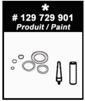 Fluid Seal Kit for Xcite Gun129-729-901