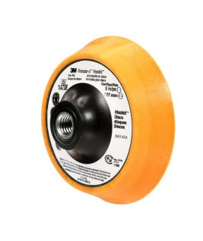 "3M Finesse-it Contact Disc Pad 14738, 5"" x 1"",  5/8-11 Internal Thread"