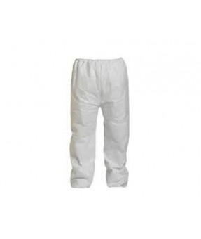 TYVEK pants with elastic waist