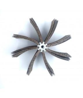 Sia Aluminum Oxide Bore Polisher, 5x2, P80