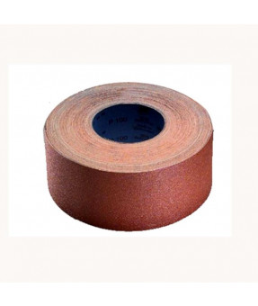 Siawood 1919 Abrasive Roll, Paper Backed, 3 1/2 x 27 yd - P80
