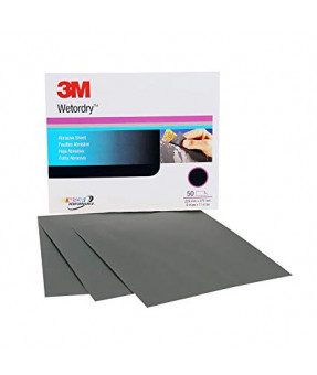 3M Wetordry 213Q 9 x 11 A-Weight Sheet - P800