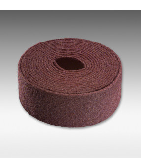 "Siafleece 7056 Non-Woven Abrasive Roll 4"" x 11 yds -Very Fine (Red)"