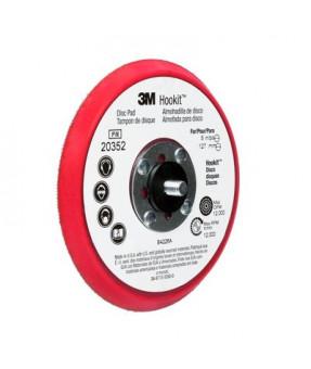 3M™ Hookit™ Low Profile Disc Pad 20352, 5 in x 3/8 in x 5/16-24 External