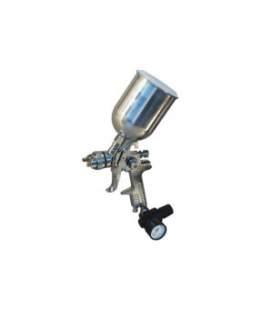 Lemmer A935 HVLP Gravity Feed Cup Gun with Metal Cup - 1.5 mm nozzle