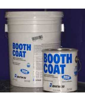 Booth Coat (White) - 5 Gallon Pail
