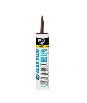 DAP Alex Plus Caulk, Brown, 300ml