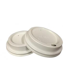 Coffee Cup Lids, 10-12oz, 1000/case