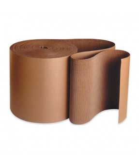 "Single Face Corrugated Roll, 24"" x 250'"