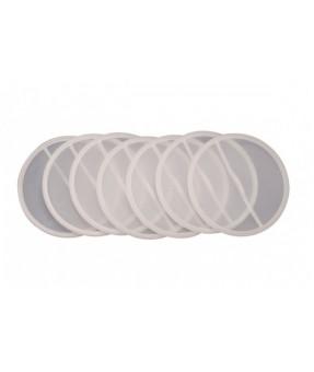 DeKups Disc Filters - 200 Micron Filter Screen, Pack of 24