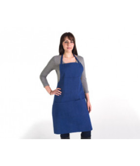"Denim Apron with Pockets, 24"" x 36"""