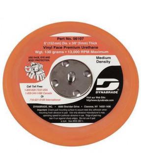 "Dynabrade 56107 6"" X 3/8 Non-Vacuum Disc Backup Pad, Vinyl-Face, 5/16-24 EXT"