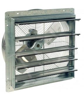 """16"""" Shutter Fan, 1216 CFM, 16 x 16 x 2 19/50"""