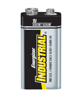 9 Volt Energizer Industrial Alkaline Battery