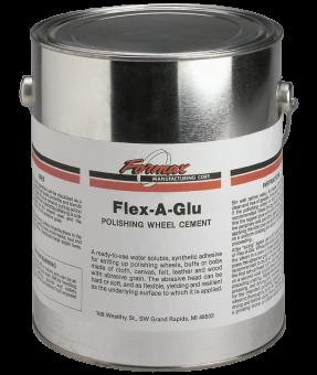 Formax F222 Flex-A-Glu Polishing Wheel Cement