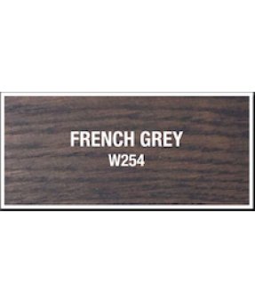 Goudey Solvent Based Wiping Stain - French Grey - 1 Litre