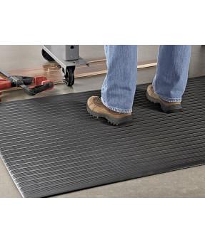 Anti-Fatigue Mat - 3/8 thick, 2 x 6 feet - Black