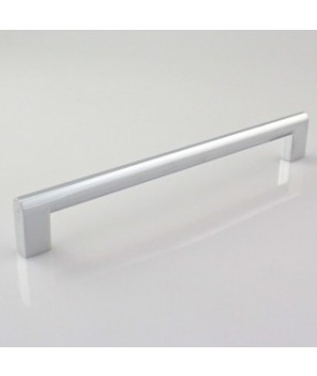 Oval Bar Handle, CP Finish (Chrome), 25/100, 224mm