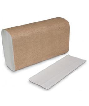 Multi-fold White Paper Towel,  16 bundles of 250, Cost per Case