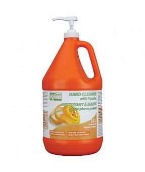 Hand Cleaner, Orange Pummice, 3.6L Jug