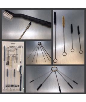 17 Piece Brush Kit for Spray Guns