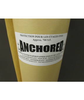 Anchored Rubberized Floor Paper
