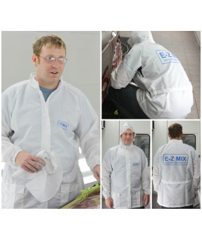 E-Z Mix Lab Coat with Detachable Hood (X-Large)