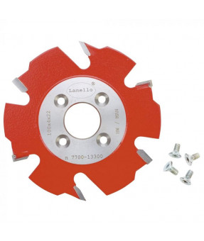 """Lamello Groove 4"""" Cutter Replacement Blade, 100x4x22, Z6, 4 NL with scoring teeth, Original lamello"""
