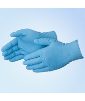Blue Nitrile Exam Gloves - Various Sizes