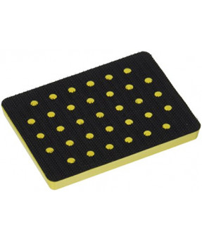 "Mirka 934GV 3"" x 4"" Grip-on Soft-faced Abranet Vacuum Pad"