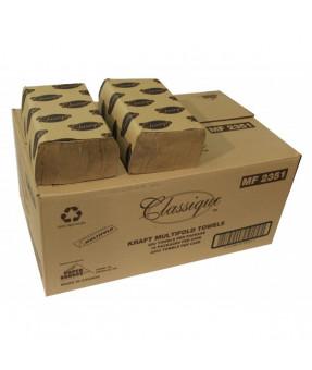Multi Fold Kraft Paper Towels 250/pk 16/case