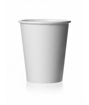 Paper Mixing Cups, Plain, 8oz - 50 per sleeve
