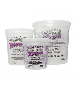 5 Star Xtreme Mixing Cups
