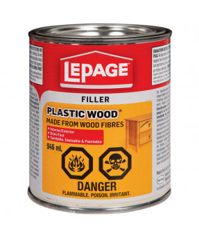Lepage Plastic Wood Filler, 946ml