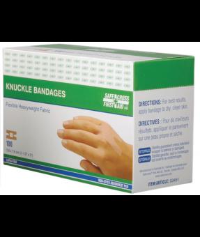Knuckle Bandaid, 1 1/2x3, 03451, 100/Box