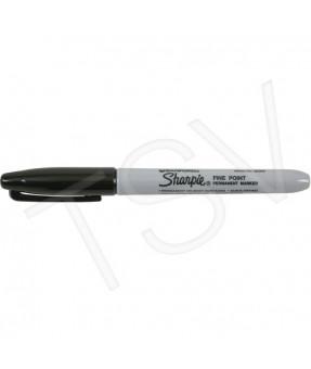 #15 Sharpie Permanent Marker, Fine, Black