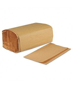 Select Single Fold Kraft Paper Towel, 250 sheets/pack, 16 packs/case, H115