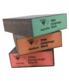 Siasponge 7990 Standard Block, Hard - Superfine (Green)