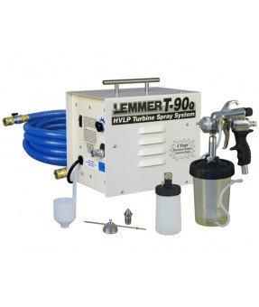 Lemmer T90Q HVLP 4-Stage Turbine Spray System with A728 Gun