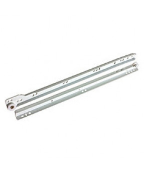 "Standard Drawer Slide, 14"", 3/4 Extension, White, 25/box"
